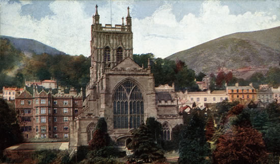 Malvern, Priory Church (St Mary and St Michael) and Hills