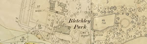 North Buckinghamshire Maps reveal Bletchley Park