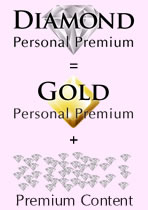 Diamond = Gold + Premium Content